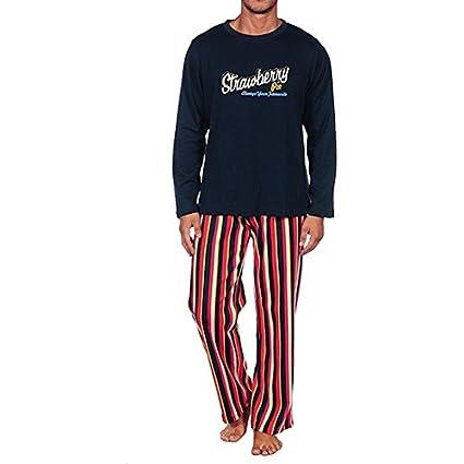 Cucuc - Pijama hombre azul marino s