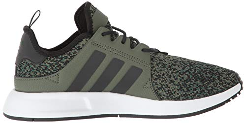 adidas Originals Men's X_PLR, Base Green/Black/White, 9 M US