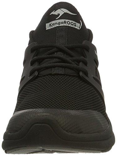 KangaROOS Xcape - Zapatillas de casa Unisex adulto Schwarz (Black)