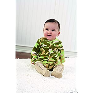 Baby Aspen Big Dreamzzz Baby Camo Two Piece Layette Set in Backpack Gift Box