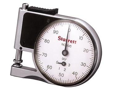 Starrett Dial Indicator >> Starrett Dial Indicator Pocket Gage Inch 0 25 Stem Diameter