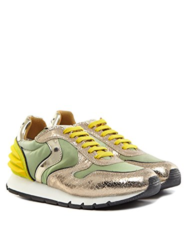 sneakers basse POWER JULIA verde BLANCHE oro VOILE verde donna Oro EtqwAWR