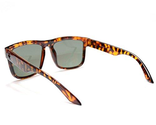 soleil homme Jee femme Léopard lunettes Vert wayfarer de 81016 pEp6tq