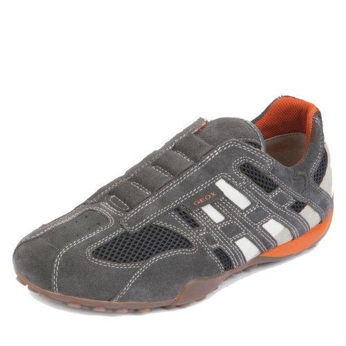 Homme Serpent Geox U1107n01422c0662 Sneaker Herren Anthrazit
