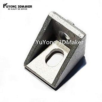 Impresora 3D - Soporte de esquina de 90 grados de alto rendimiento ...