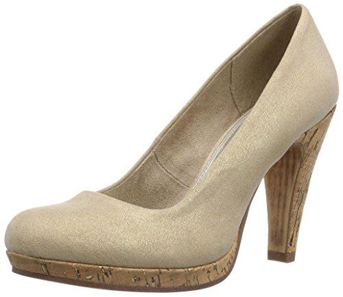 Marco Tozzi  -  Zapatos para mujer Gold (Gold Metallic / 947)