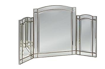 My-Furniture - Miroir triptyque du Verre trempé Antoinette: Amazon ...