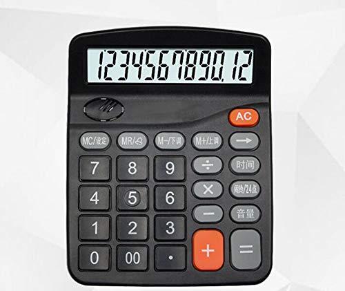 Calculator 12-bit Real Person Pronunciation Alarm Clock Func