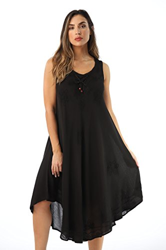 Riviera Sun 21808-BLK-S Dress Dresses for Women - Clothing India