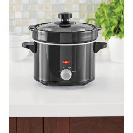 Mainstays 2-Quart Stoneware Slow Cooker, Removable ceramic pot (Outlet Timer For Crock Pot compare prices)