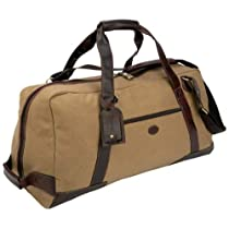 Baron Country Large Canvas & Leather Duffel Bag