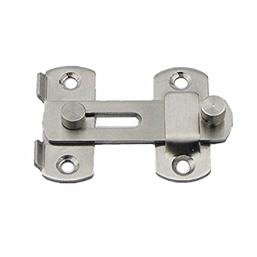 SODIAL 20x50x70mm Stainless Steel Home Safety Gate Door Bolt Latch Slide Lock Hardware