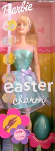 Easter Charm Barbie Doll Special Edition w Pretty Bracelet For You (2001)
