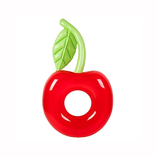 Fly Inflatable Apple Swimming Ring Watermelon Pineapple Swimming Ring Cactus Pineapple Floating Bed Inflatable Floating Row by Fly (Image #1)
