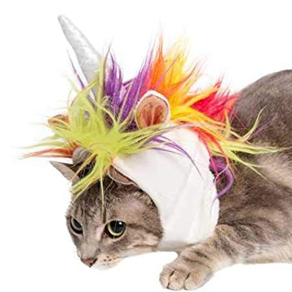 7cfd6e7e08857 Pet Krewe Unicorn Dog Costume and Cat Costume - Pet Costumes by (Small Dog/ Cat): Amazon.in: Pet Supplies
