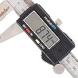 Paquímetro Digital em Aço Inox 150 Mm 6'' com Estojo 316119 MTX