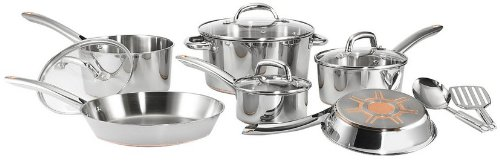 T-fal C836SC Ultimate Stainless Steel Copper Bottom 12-Pieces Cookware Set Review