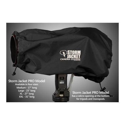 Vortex Media Pro Storm Jacket Cover for an SLR Camera, Medium ,Color: Black