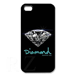 diamond supply co HD Phone Case for iPhone 5/5S Case (Black)