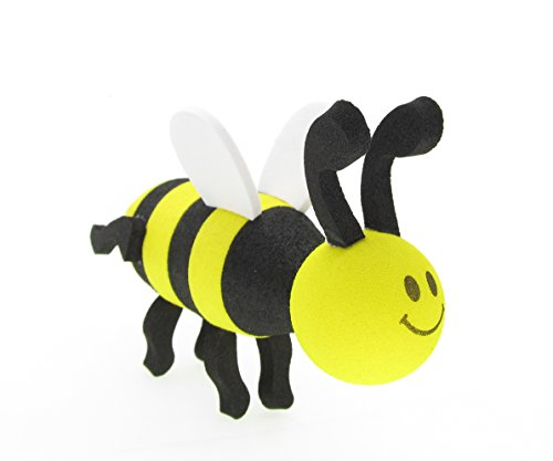 Antenna Tops Car - Antenna Topper / Antenna Ball / Mirror Dangler(Yellow Pretty Bees)