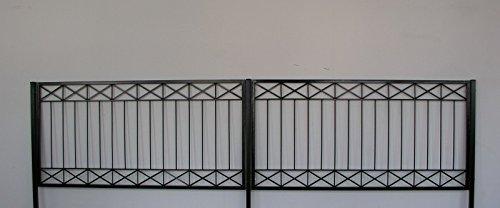 Gabella Eisen Zaun Zaune Balkon Crossline Z100 300 Verzinkt Amazon