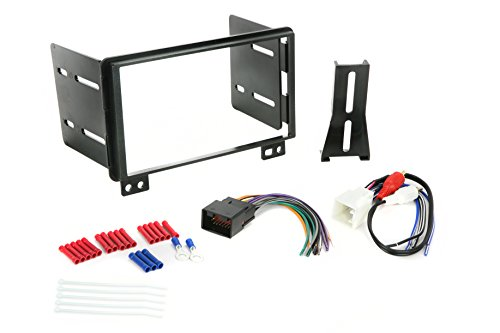 Install Centric ICFD5BN Ford 2002-06 Double Din, Premium Sound Complete Installation Kit
