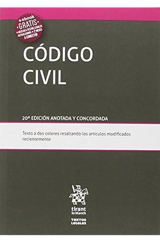Código Civil 20ª Edición 2016