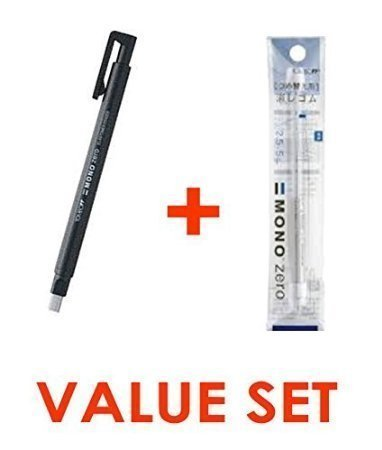 Tombow Mono Zero Eraser - 2.5 mm x 5 mm - Rectangle Tip -...