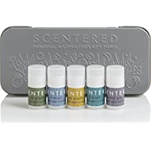 Scentered Aromatherapy Mindful Minis Balms De Stress Gift Set - Set of 5 Essential Oil Therapy Balm Sticks