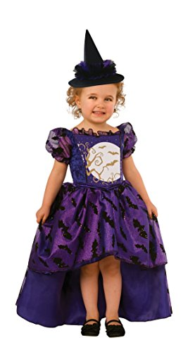 Toddler Bat Girl Costumes (Rubie's Costume Bat Witch Child Costume, Toddler)