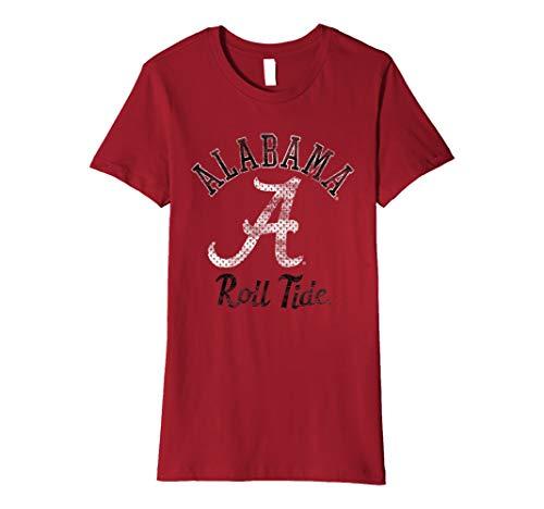 Alabama Crimson Tide Cute Women's NCAA T-Shirt AL1034