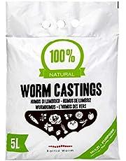 Wormenmest - Multifunctionele Meststof Pure Organische Vermicompost - Natuurlijke Bodemverbeteraar en Verbeterde Plantenvoeding voor Kiemgroei in Potgrond - Baltic Worm