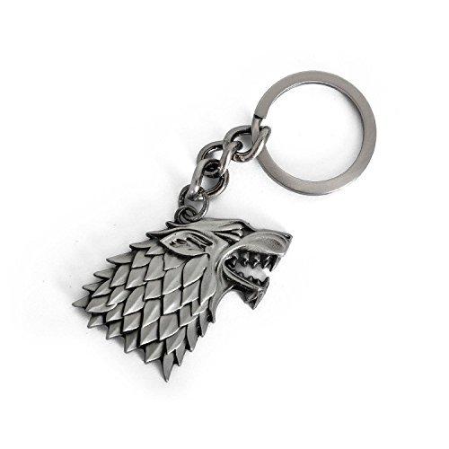 FiraDesign StarkWolf Keychain Keyring - House StarkGOT