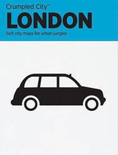 Crumpled City Map-London