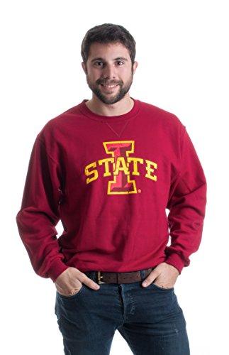 Iowa State University | ISU Cyclones Unisex Crewneck Fleece Sweatshirt