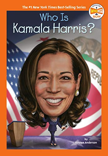 Book Cover: Who Is Kamala Harris?