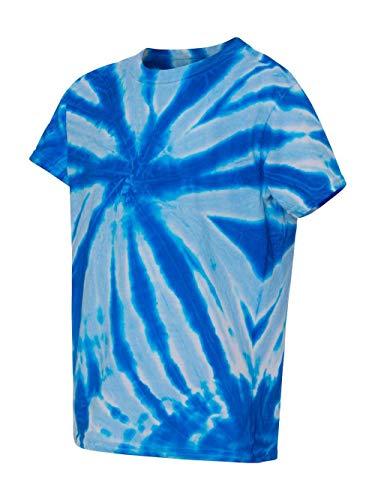Dyenomite 20GWY Boys' Glow in the Dark T-Shirt Glowworm Medium
