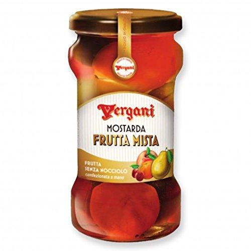 Vergani - Mostarda Frutta Mista (Fruit Chutney), (2)- 14.08 oz. Jars