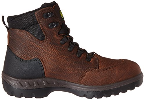 John Deere Mens Punta Da 6 Pollici In Acciaio Impermeabile Eh Lu Boot Whisky Da Lavoro