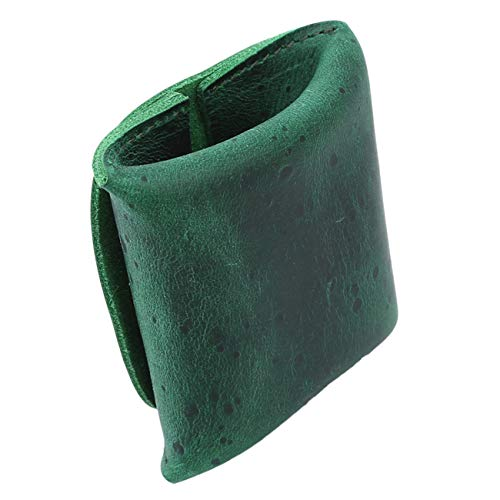 Pour Porte Hommes Bigsweety Mince Cuir Monnaie En Vert x6wqvqAI