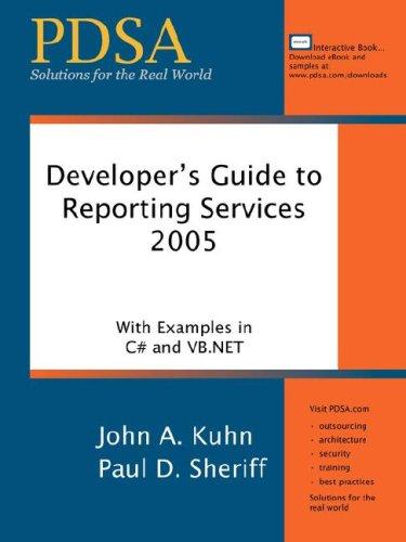 Developer's Guide to Reporting Services 2005 PDF