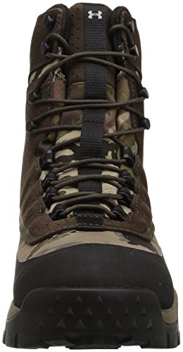 Under Armour Women's Brow Tine 2.0 400G Ankle Boot, Ridge Reaper Camo Ba (901)/Maverick Brown, 6 by Under Armour (Image #4)