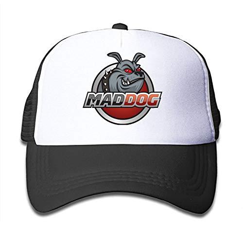 - Verna Christopher Mad Dog Kids Girls Mesh Cap Trucker Hats Adjustable