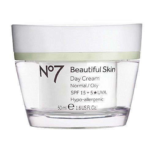 Boots No7 Beautiful Skin Day Cream, Normal / Oily 1.6 fl oz (50 ml) by Roomidea
