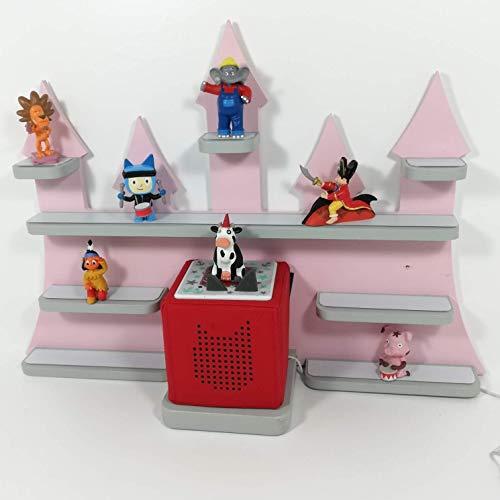 Tonie Board, Schloß *Farbwahl* ideale Aufbewahrung für Tonie Box und Tonie  Figuren, Kinderzimmer Regal, Deko Board, Musikboxaufbewahrung, Hängeregal
