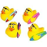 Set of 12 ~ Surfer Surf Surfboard Surfing Rubber Duck Ducky Duckie
