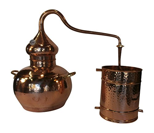 10 Gallon Copper Whiskey Still for making Moonshine, Scotch, Rum, Vodka and Essential Oils