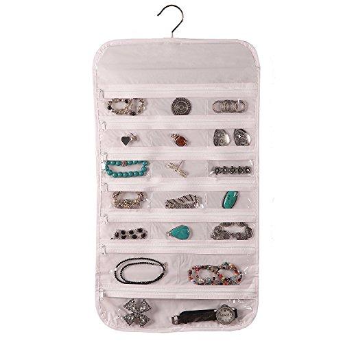 Hanging Jewelry Organizer Pockets Accessory