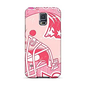 Shock Absorbent Cell-phone Hard Cover For Samsung Galaxy S5 (JCo13527HquN) Support Personal Customs Attractive New England Patriots Image
