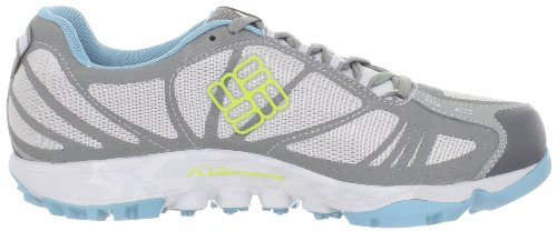 Columbia - Zapatillas de running para mujer Cool Grey/Fresh Kiwi, color, talla US 6/UK 4.0